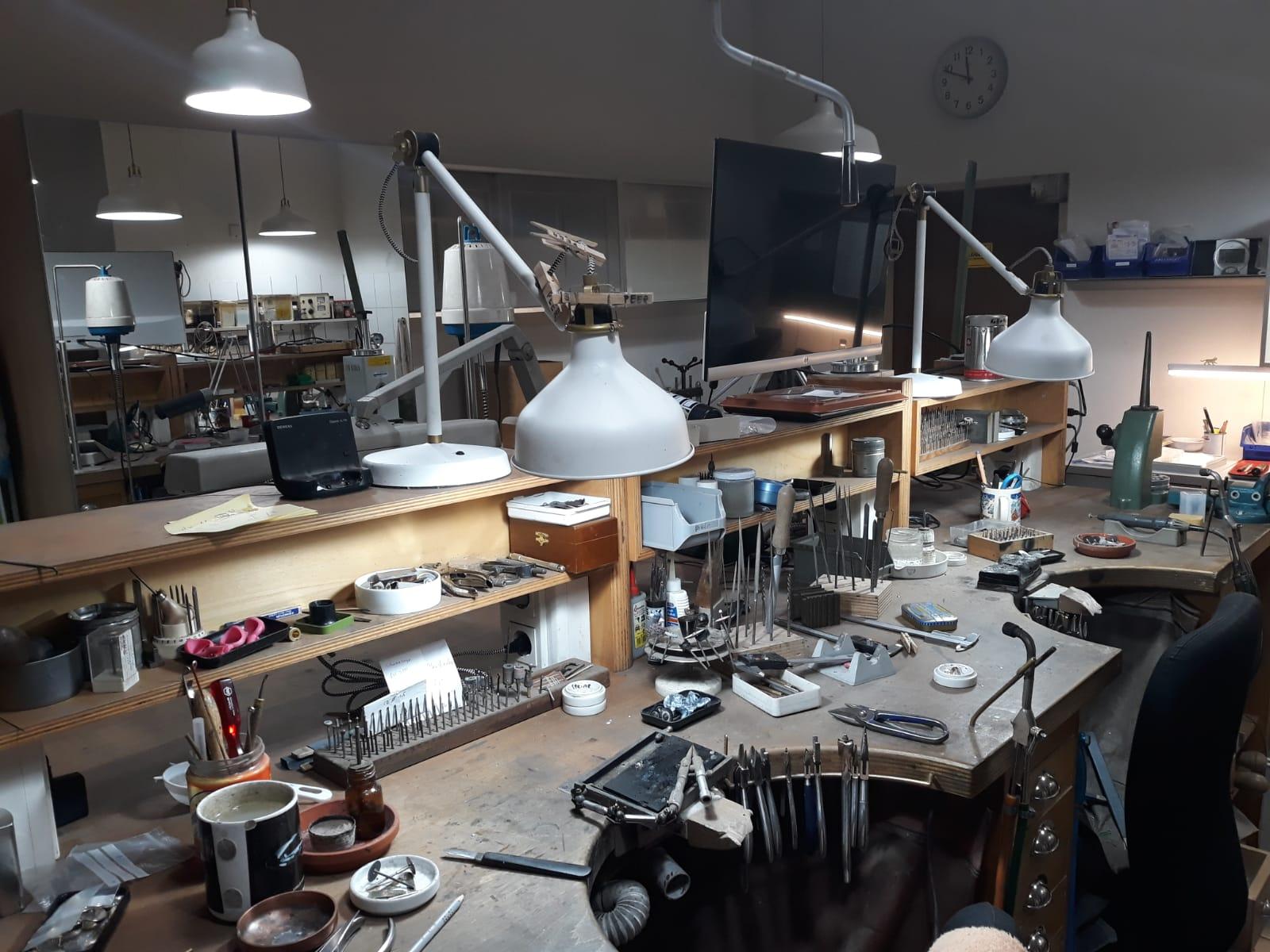 Goldschmiede-Werkstatt